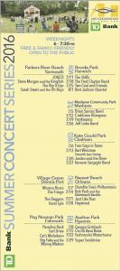 orleans village green concerts 2016