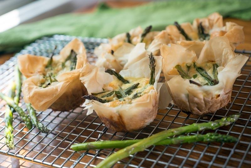 asparagus cheese cups