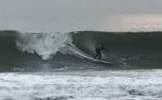 Surfing on Nauset Beach