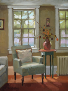 Parsonage Inn, lounge, Paul Schulenburg