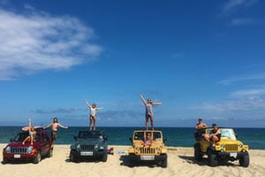 Nauset Beach Jeeps