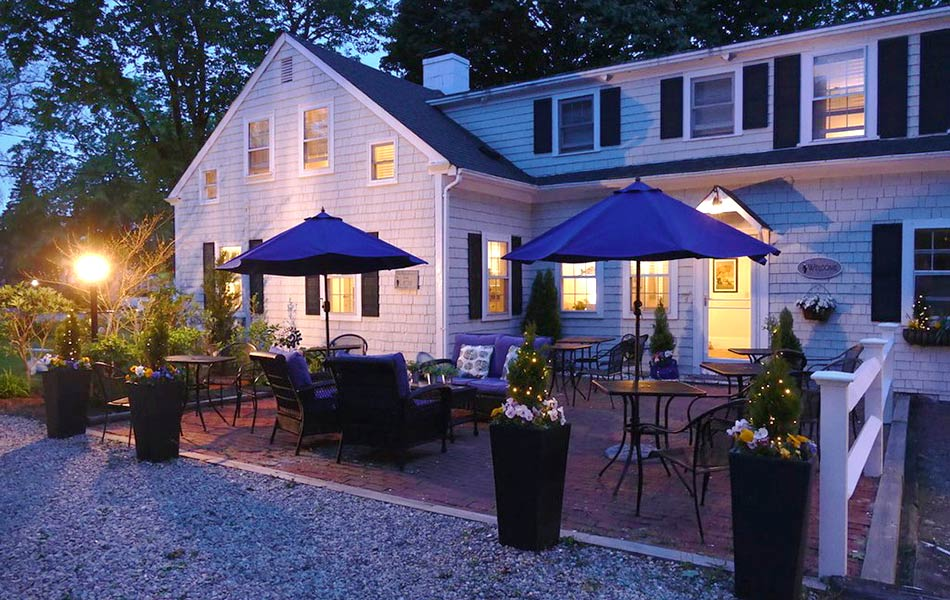 Orleans MA Bed and Breakfast Patio