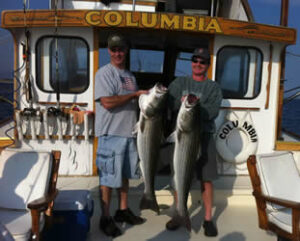 Sportfishing in Cape Cod Bay