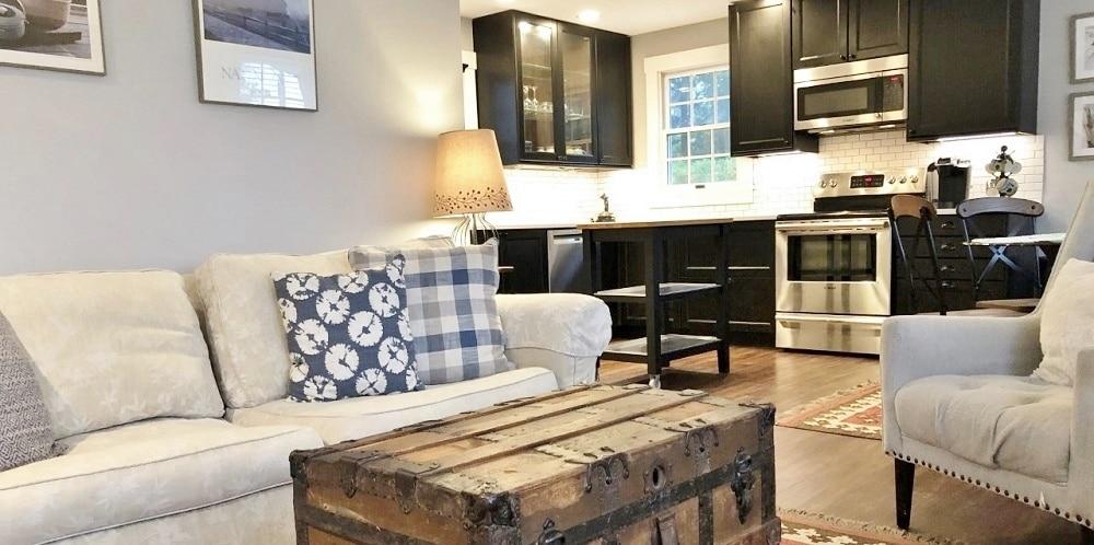Refitted kitchen, Parson's Cottage