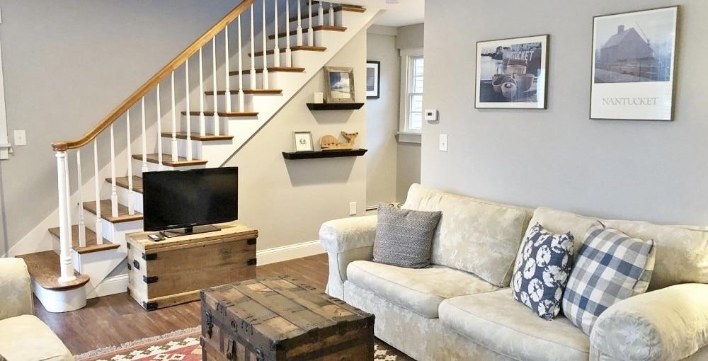 Cozy lounge, Parson's Cottage